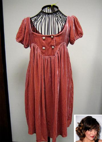 Resident evil red dress pattern