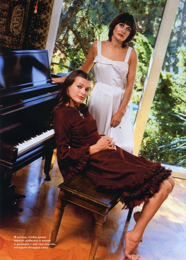 millajcom  official milla jovovich website gallery galina jovovich