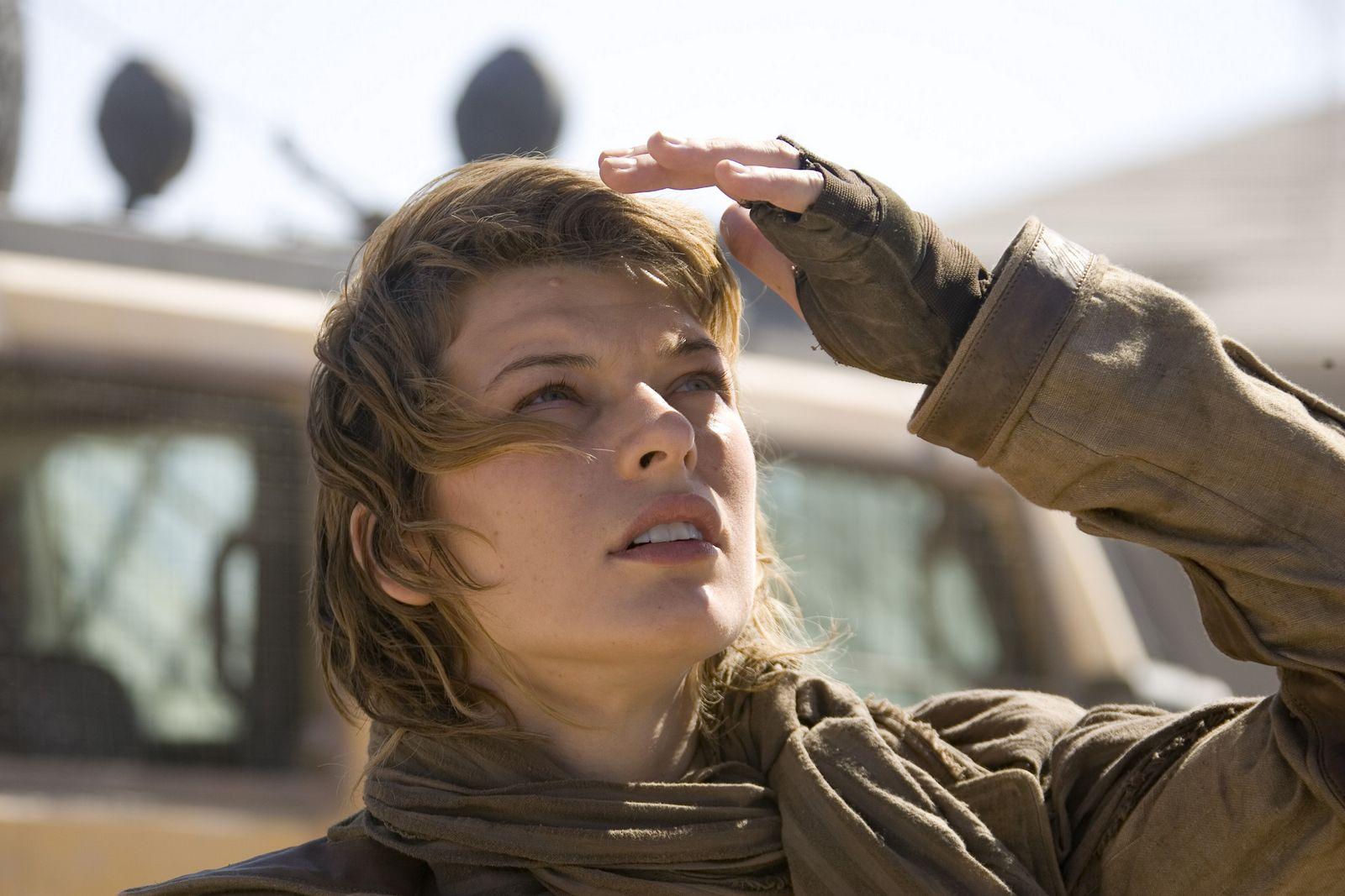 MillaJ.com :: The Offi... Milla Jovovich Resident Evil Stills
