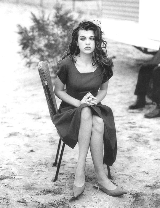 Sorry, Milla jovovich when she was young very valuable